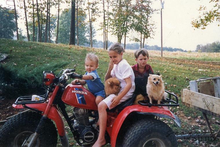 kids - dogs
